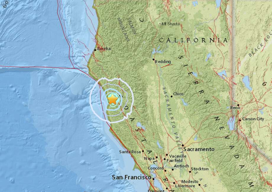 A magnitude-3.8 earthquake struck near the Northern California area Laytonville on Thursday, November 3, 2016.