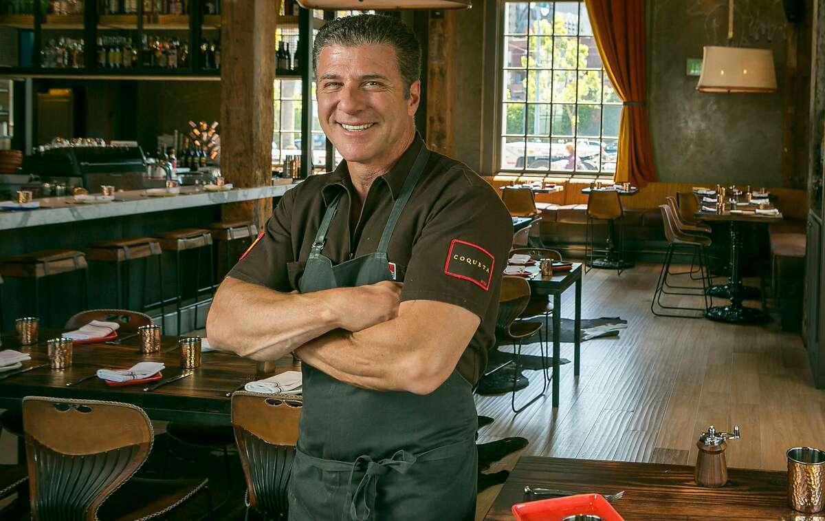 Chef Michael Chiarello at Coqueta in San Francisco, Calif., is seen on Monday, June 10th, 2013.