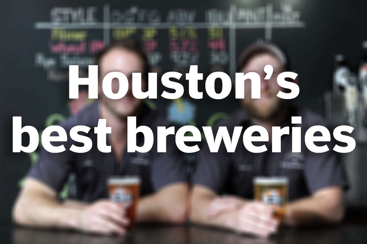 PHOTO: Houston's Best Breweries Hey you, go drink some beer! Click through to check out some of Houston beer lovers' favorite local breweries...