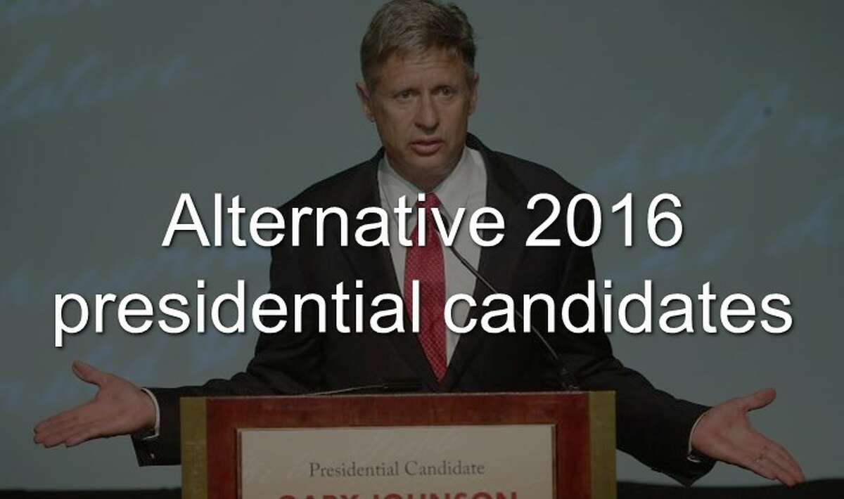 Continue clicking to see the alternative presidential candidates for the 2016 election.