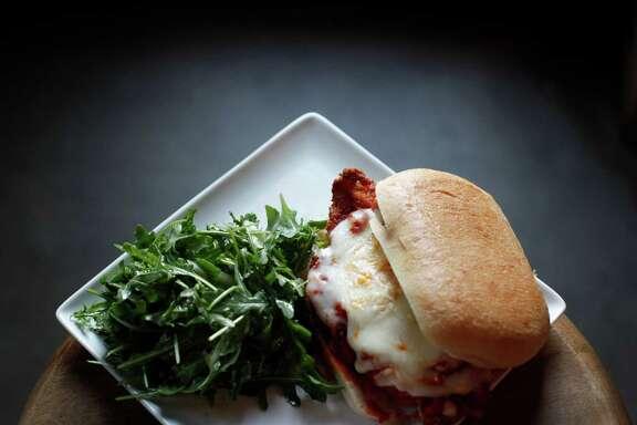 Ken Hoffman's Top 10 Sandwich list: 1. The Chicken Parmesan Sandwich