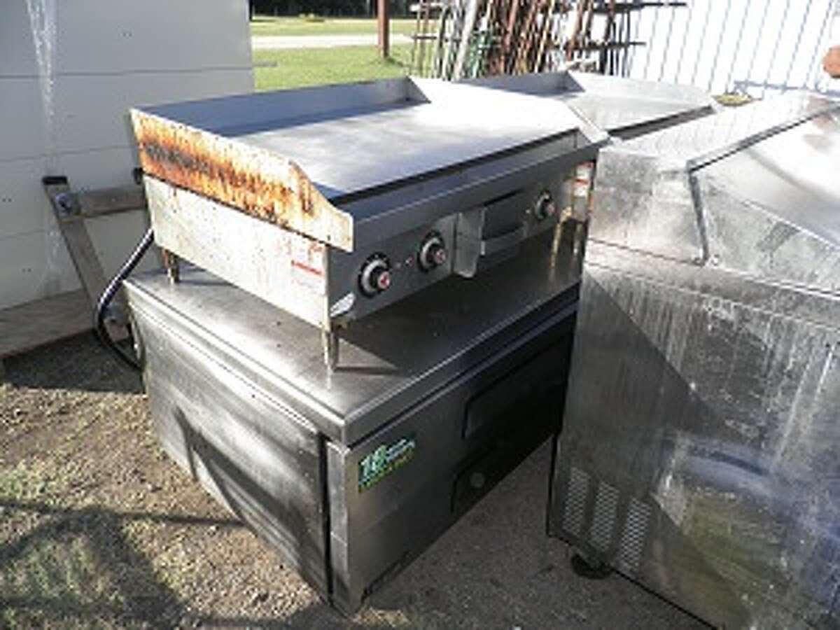 Flat grill from Setzer Center at Lamar University