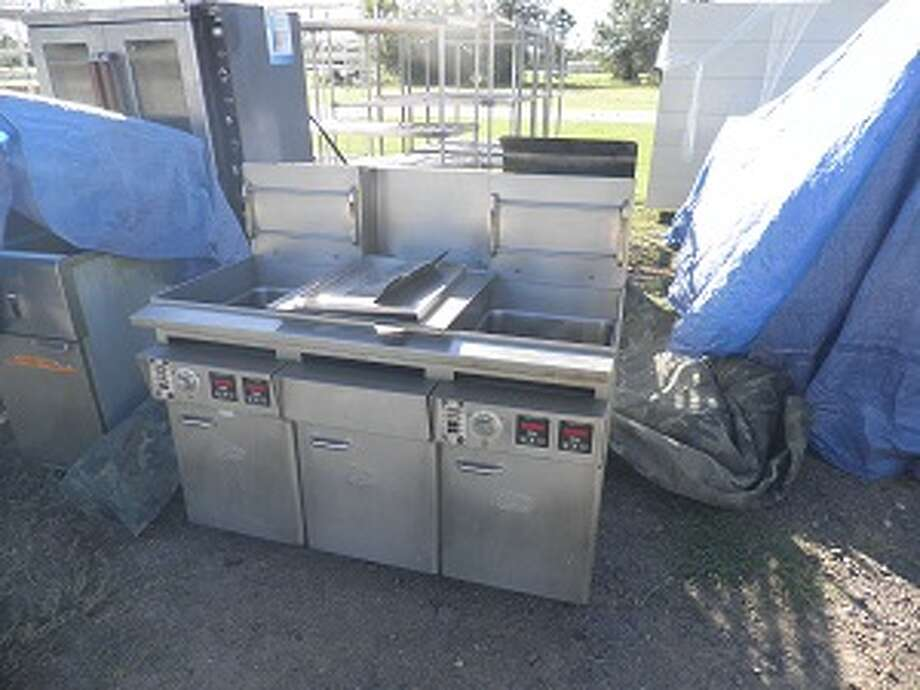 Deep fryers from Setzer Center at Lamar University Photo: Horn Auction Co.