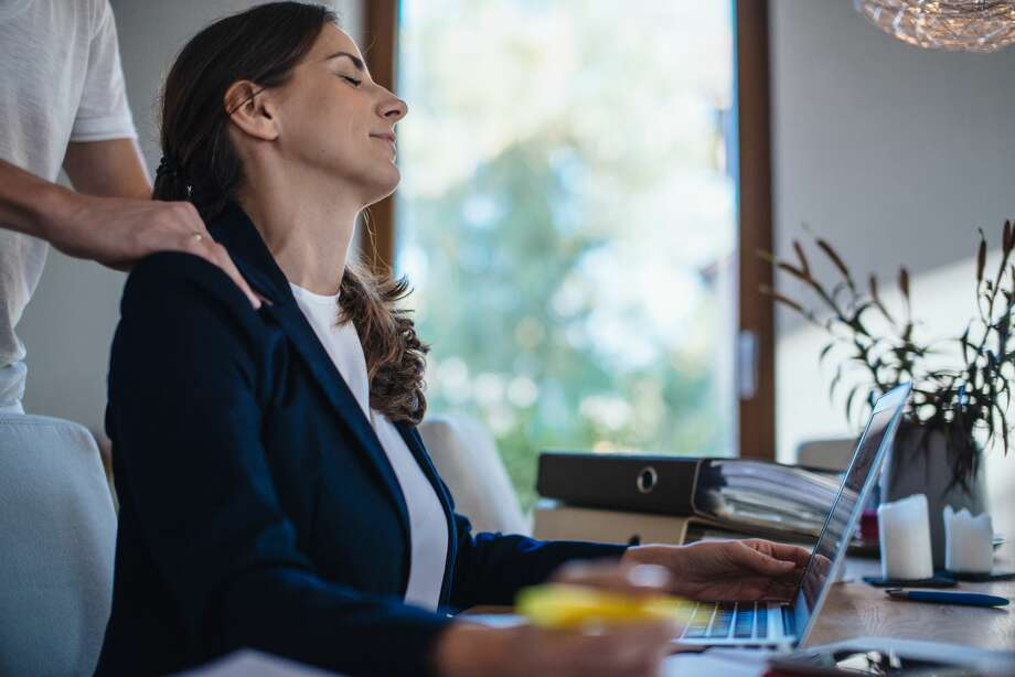 Work productivity is increased when men and women work together, but since office romances do happen, having strong boundaries between the two helps you keep your work life in harmony with your home life.>>Keep clicking for tips on maintaining boundaries. Photo: Guido Mieth/Getty Images