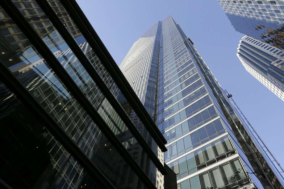 The Millennium Tower in San Francisco. A 58-story luxury condominium that has gained notoriety as the leaning tower of San Francisco. Photo: Eric Risberg, Associated Press