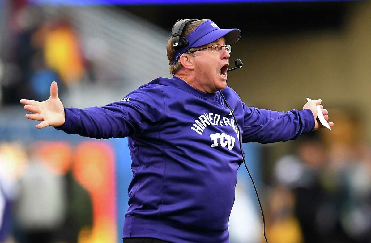 TOP CANDIDATES FOR TEXAS A&M HEAD COACHING JOB GARY PATTERSON, TCU It's amazing what Patterson has done for Horned Frogs football since around the turn of the century, and he truly is a Fort Worth treasure. There are also plenty who wonder if the longtime grinder wouldn't mind scratching an itch of running another prominent program, one with deeper pockets and more resources. Probably not, though, considering Patterson, 57, just agreed to another contract extension to keep him at TCU until the cows come home (or at least through the spring of 2024).