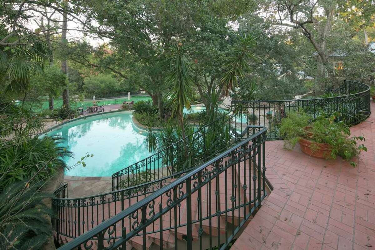 The property at 3940 Inverness in River Oaks has three impressive swimming pools.