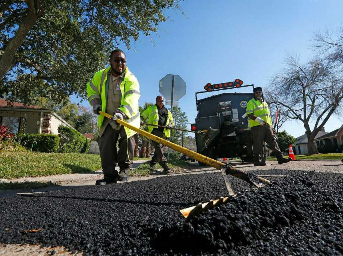 By the numbersTotal number of potholes filled: 61,776 Source: City of Houston