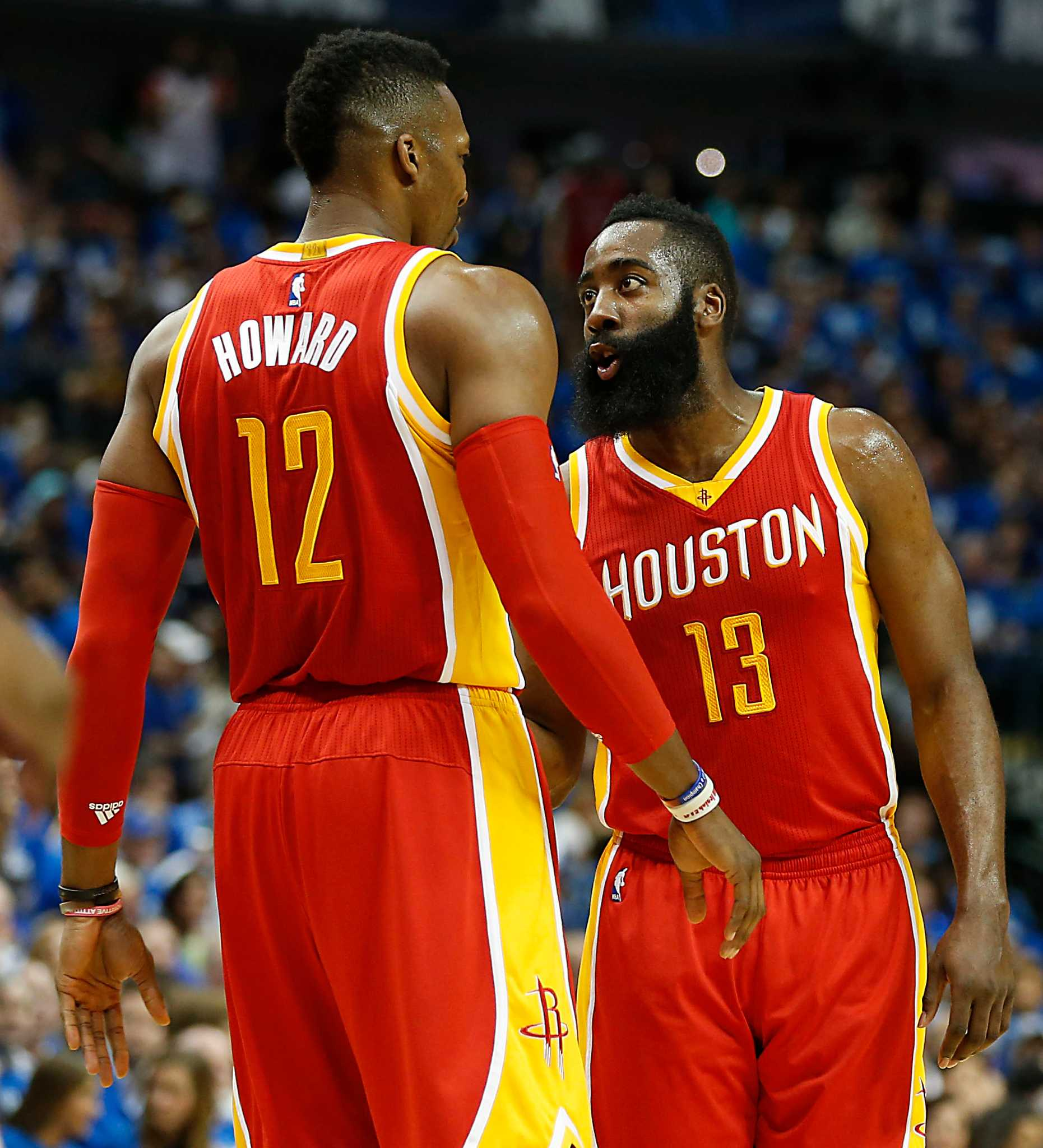 dc1aca57f66 Dwight Howard   I ve never had a personal issue  with James Harden - Houston  Chronicle