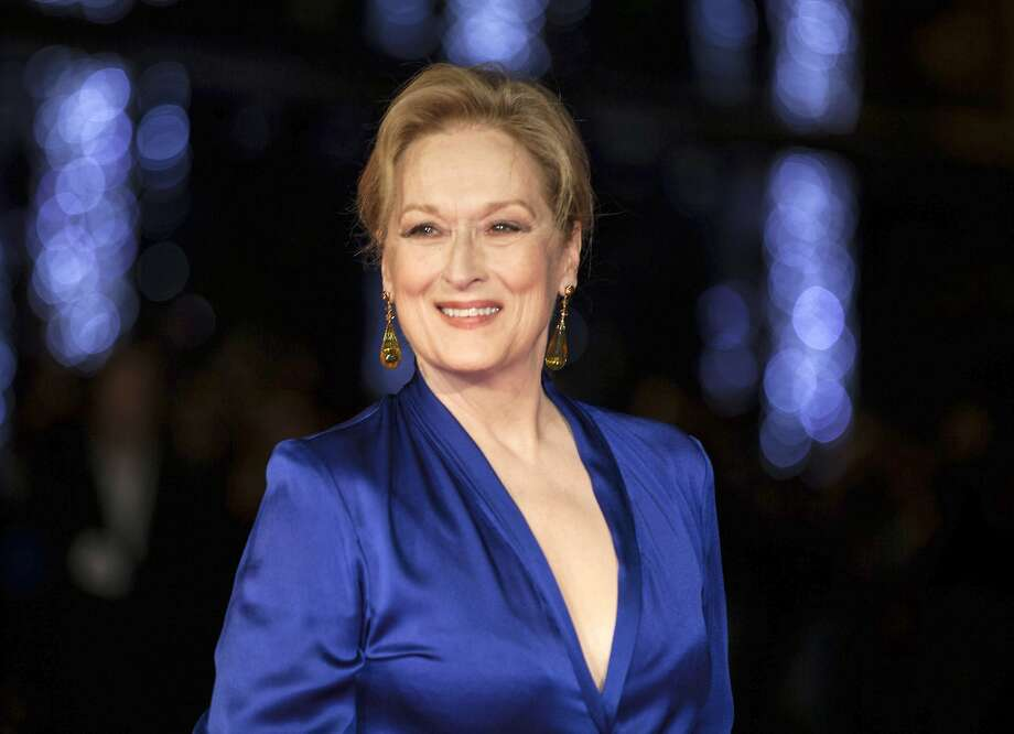 """FILE - In this Oct. 7, 2015 file photo, Meryl Streep appears at the premiere of the film """"Suffragette,"""" at the opening gala of the London film festival in London. The Hollywood Foreign Press Association announced Thursday, Nov. 3, 2016, that Streep will receive the Cecil B. DeMille Award for �outstanding contributions to the world of entertainment.� The 67-year-old actress has long been a mainstay at the ceremony. She�s been nominated 29 times. (Photo by Grant Pollard/Invision/AP, File) Photo: Grant Pollard, Associated Press"""