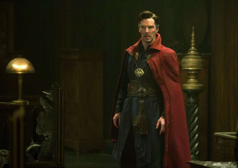 "This image released by Disney shows Benedict Cumberbatch in a scene from Marvel's ""Doctor Strange."" ( Jay Maidment/Disney/Marvel via AP) ORG XMIT: NYET807 Photo: Jay Maidment / null"