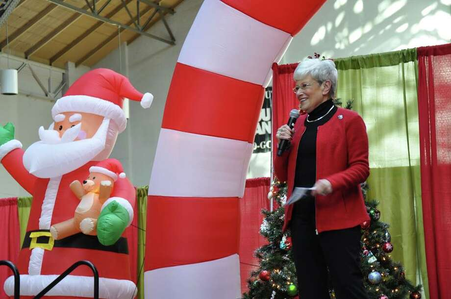 Connecticut Lt. Governor Nancy Wyman at the kick off event for 2016's Operations ELF program on Thursday, Nov. 3, 2016.. Operation ELF (Embracing Lonely Families) aims to ease financial stresses military families face as a result of the call of active duty. Photo: Contributed Photo: Office Of Lt. Governor Nancy Wyman