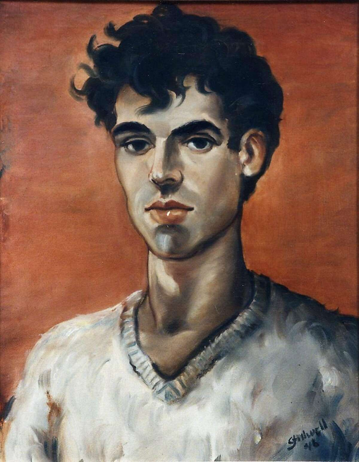 Letters written by San Francisco artist Leo Stillwell, who painted this self-portrait in 1946, two years before he died at age 22, were recently donated to San Francisco State University, which has his complete archive.
