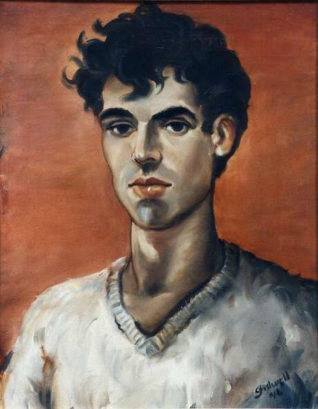 A self-portrait by Leo Stillwell, who died at 22. Photo: Courtesy SFSU Fine Arts Gallery