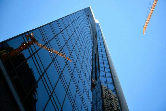Millennium Tower on Friday, July 29, 2016 in San Francisco, California. The tower is currently facing structural issues causing a lean.