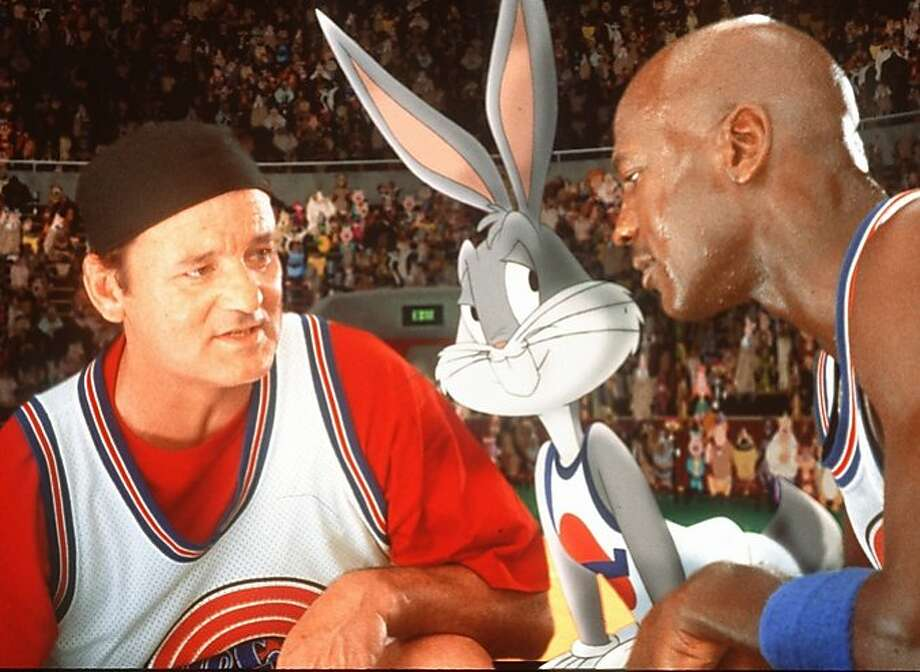 "Bill Murray, Bugs Bunny and Michael Jordan star in ""Space Jam."" Photo: Associated Press"