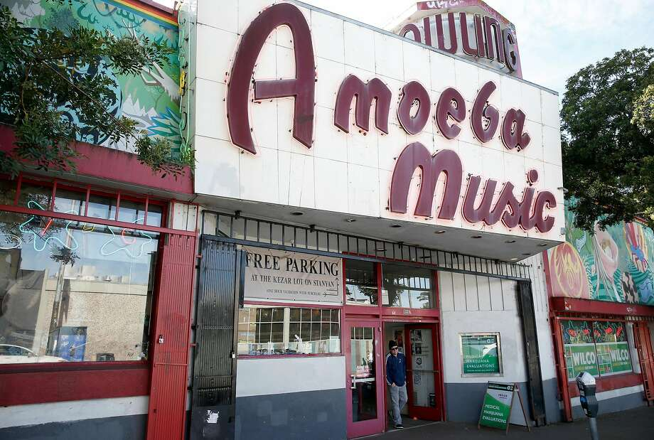 """Artists like Mac DeMarco, Concord-based Death Angel, Yasiin Bey (formerly known as Mos Def) and SF native Ty Segall have all shot episodes of the Amoeba Music web series """"What's In My Bag?"""" at the SF location of record store chain, seen here in this file photo from 2016.Click ahead to check out some of the coolest moments from the series. Photo: Paul Chinn, The Chronicle"""