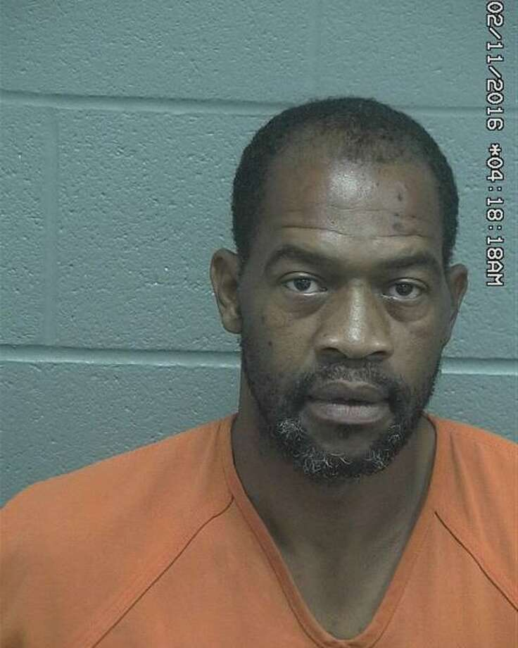 Keenan Leshaun Badger, 40, was arrested Tuesday after allegedly stealing a debit card and using it at local stores. Photo: Midland County Sheriff's Office
