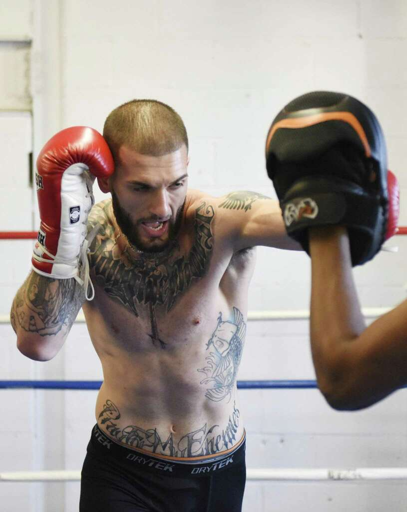 greenwich man rises from troubled youth to fighting pro
