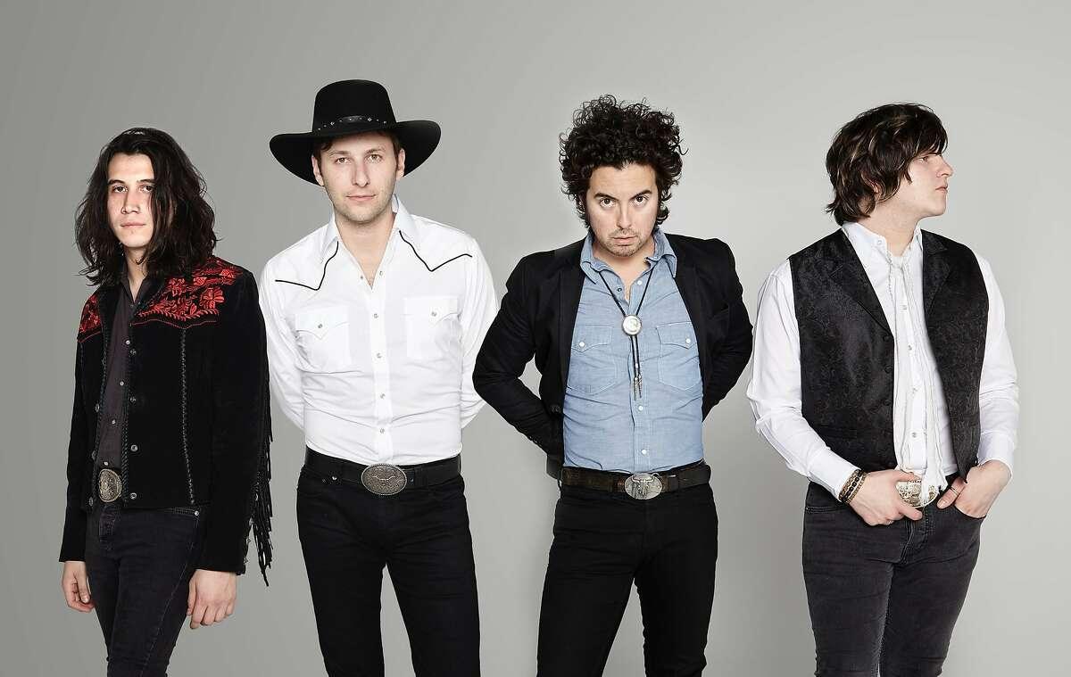 Members of the band include Diego Navaira (bass & vocals), Emilio Navaira (drums & vocals), Jerry Fuentes (guitar & vocals), and New York native Derek James (guitar & vocals).