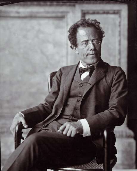 The Austrian composer Gustav Mahler. Photograph by Moriz Nahr. 1907. ( One year before the Chicago Cubs won the 1908 World Series ) Photo: Imagno, Getty Images