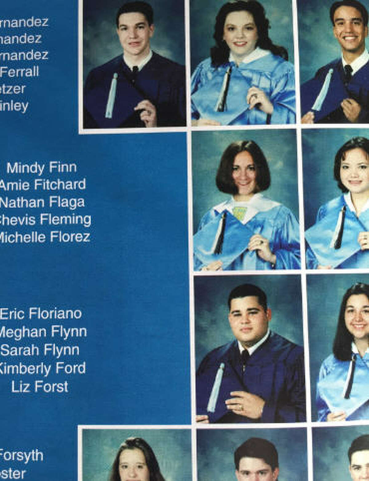 Inependent candidate for vice president Mindy Finn in her Kingwood High School yearbook. (Kingwood High School Yearbook)