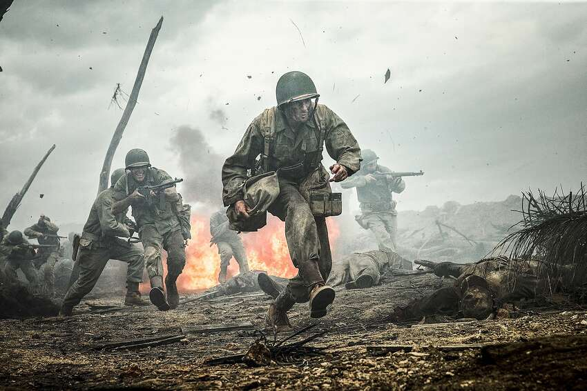 Hacksaw Ridge (2016) Available on HBO July 22 WWII American Army Medic Desmond T. Doss, who served during the Battle of Okinawa, refuses to kill people, and becomes the first man in American history to receive the Medal of Honor without firing a shot.
