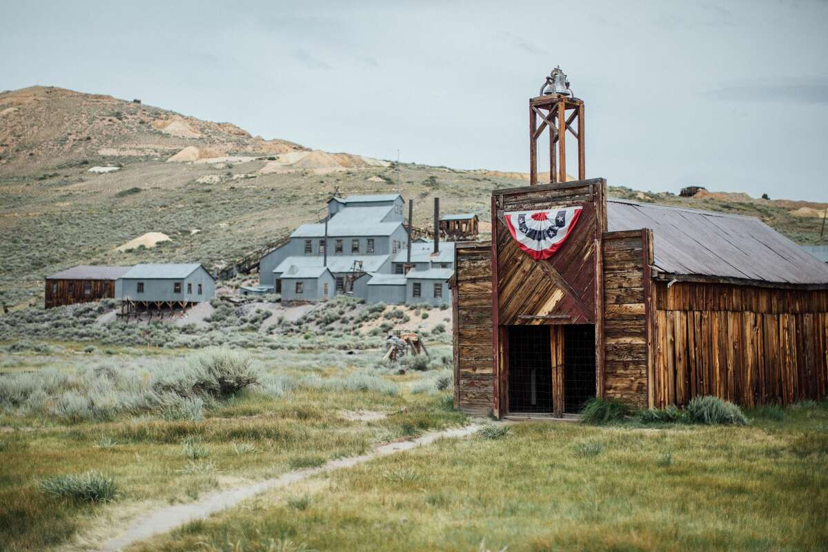 The former Firehouse in Bodie, California.