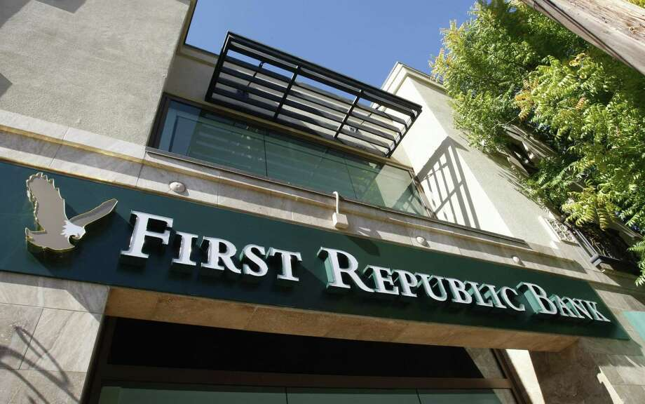 First Republic Bank, seen in Palo Alto, Calif., announced recently its expansion of a student loan repayment program for all employees. First Republic Bank also has a branch in Greenwich located at 93 Mason St. Photo: Paul Sakuma / Associated Press / AP