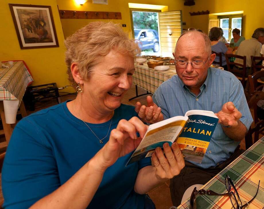 Use a good phrase book to learn a few words of the local language — your hosts will appreciate it. Photo: Dominic Arizona Bonuccelli, Rick Steves' Euroep