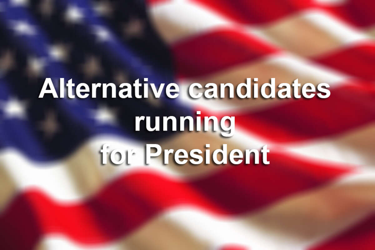 Alternative candidates running for President
