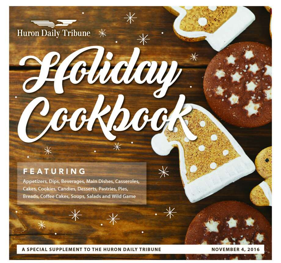 The 2016 Holiday Cookbook. Photo: Huron Daily Tribune