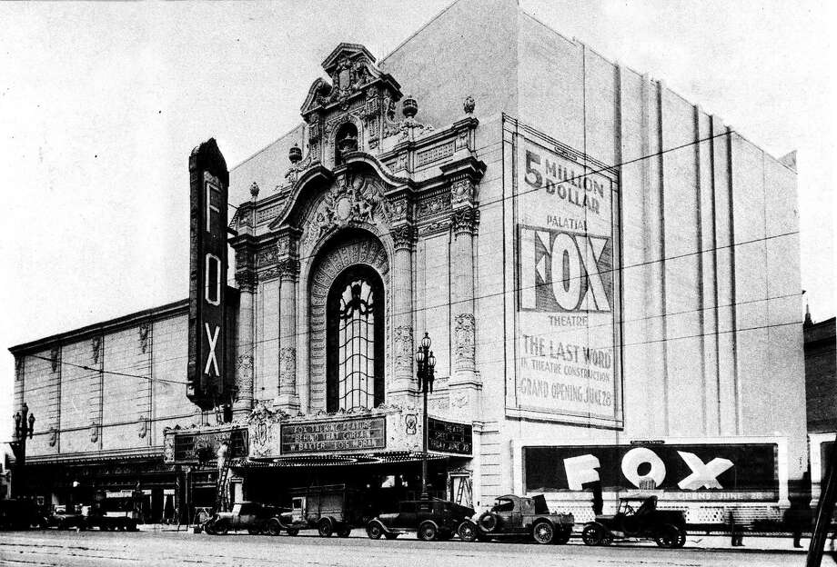 When the Fox Theater opened on Market Street in 1929, the 4,651-seater was one of the world's most impressive cinemas. Photo: Chronicle Archives