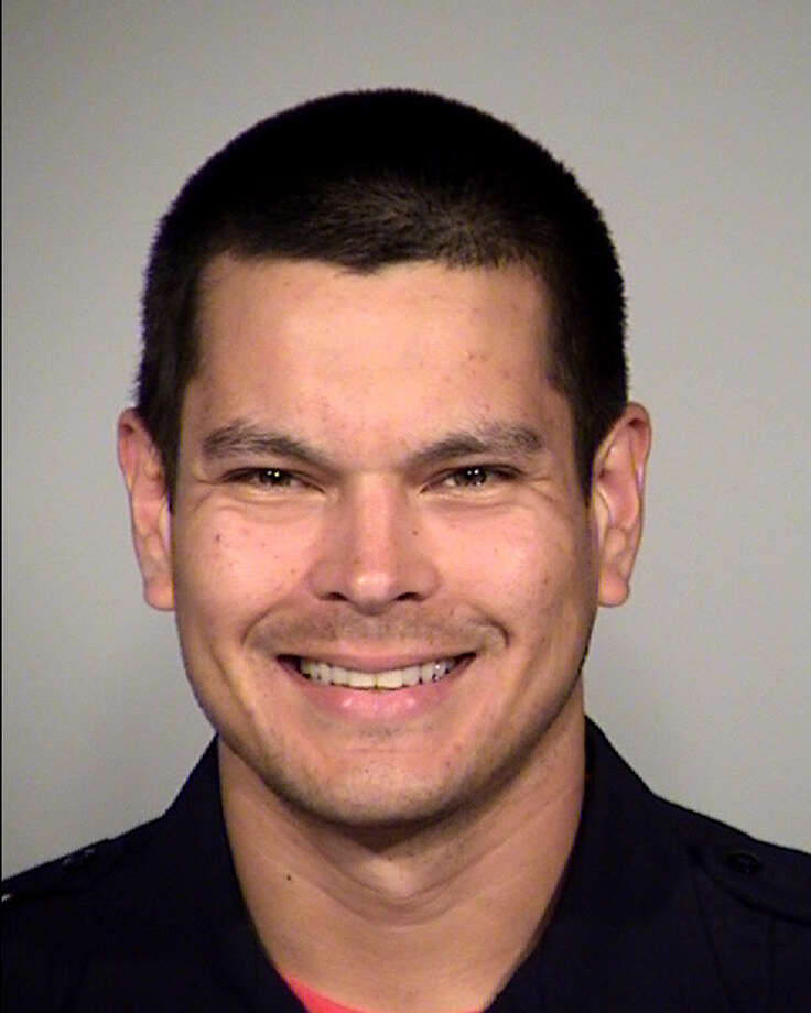 Officer Mattthew Luckhurst, a 5-year veteran of SAPD, was fired for allegedly attempting to feed a fecal sandwich to a homeless person. Photo: San Antonio Police Department