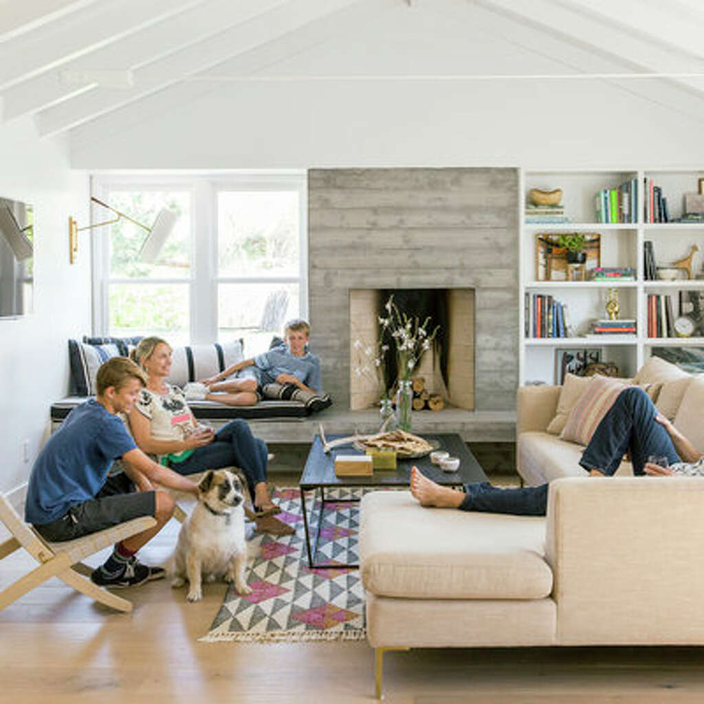 Raise The RoofTo Create A Wider Living Space, This Family Expanded Outward  Into An Exterior