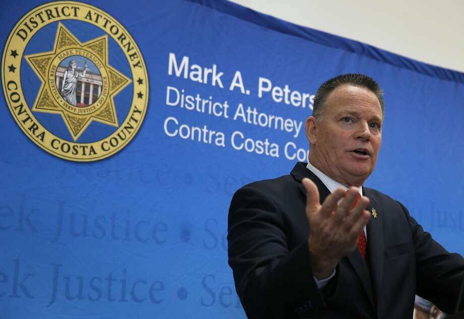 Contra Costa County District Attorney Mark Peterson in December admitted to inappropriately spending $66,000 in campaign funds on personal expenses. Photo: Paul Chinn, The Chronicle