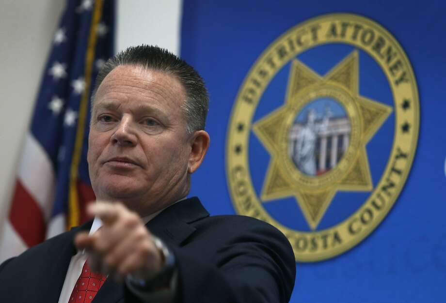 File photo of Contra Costa County District Attorney Mark Peterson. Photo: Paul Chinn, The Chronicle