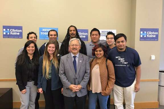 "San Francisco Mayor Ed Lee tweeted on Oct. 27 while he was campaigning in Nevada in support of Hillary Clinton's presidential campaign. He tweeted, ""A #Trump presidency will be devastating, especially for SF. Today, I visited NV to help get out to vote for @HillaryClinton #ImWitHer."""