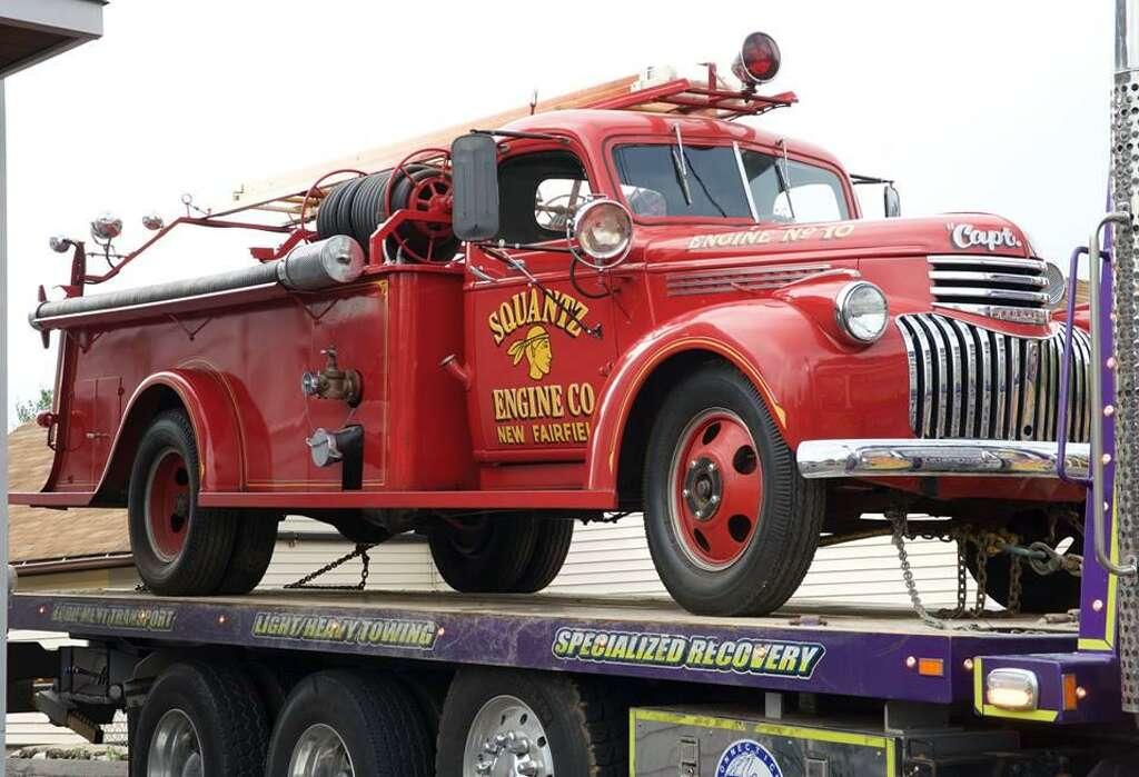 Original fire truck returns to Danbury department - NewsTimes