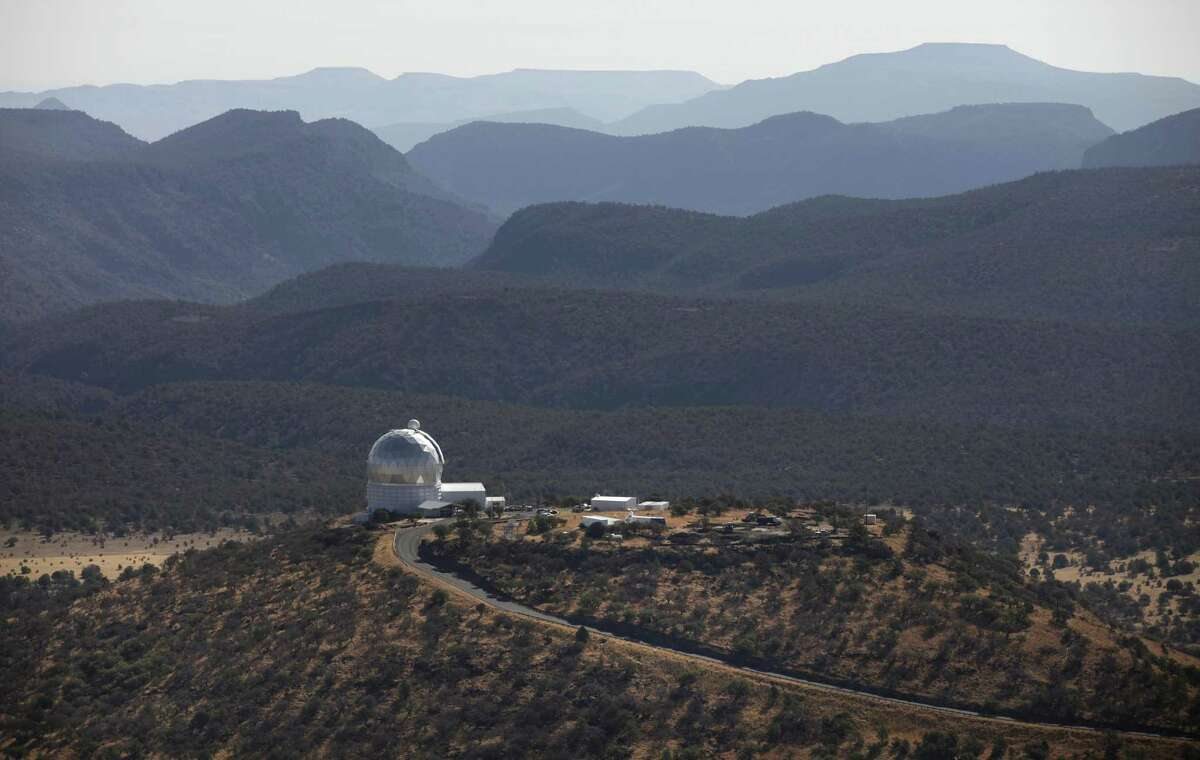 Metro daily - The McDonald Observatory in the Davis Mountains.