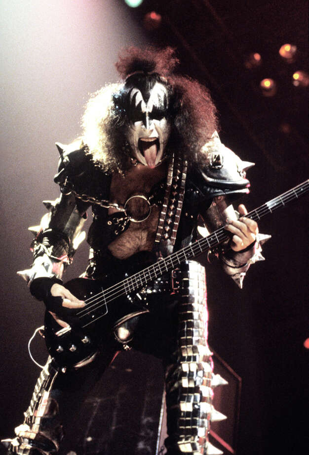 Gene Simmons and the band Kiss are one of the rock groups  featured at the Rock & Roll Icons Exhibit at the Albany Institute of History & Art in Albany. (Photo Patrick Harbron) Photo: © Patrick Harbron / © Patrick Harbron 1979/2011