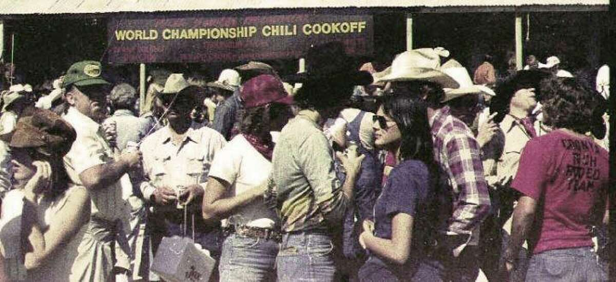 This weekend is the 50th annual Original Terlingua International Championship Chili Cookoff in Terlingua, Texas, one of the most popular cook-offs of its kind in the world. Since 1967 it's been attracting chili heads from far and wide to take in the scenery and eat and enjoy variations on our official state dish. These historic photos -- some humorous, some hilarious -- show off the freewheeling attitude of the event in its early years.