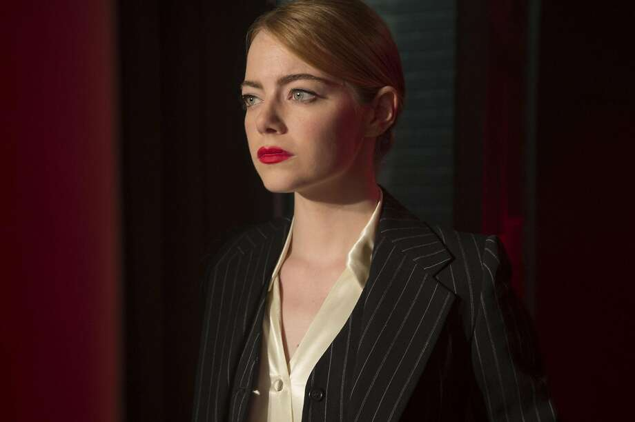 "Emma Stone as Mia in a scene from the movie ""La La Land."" Photo: Dale Robinette, TNS"