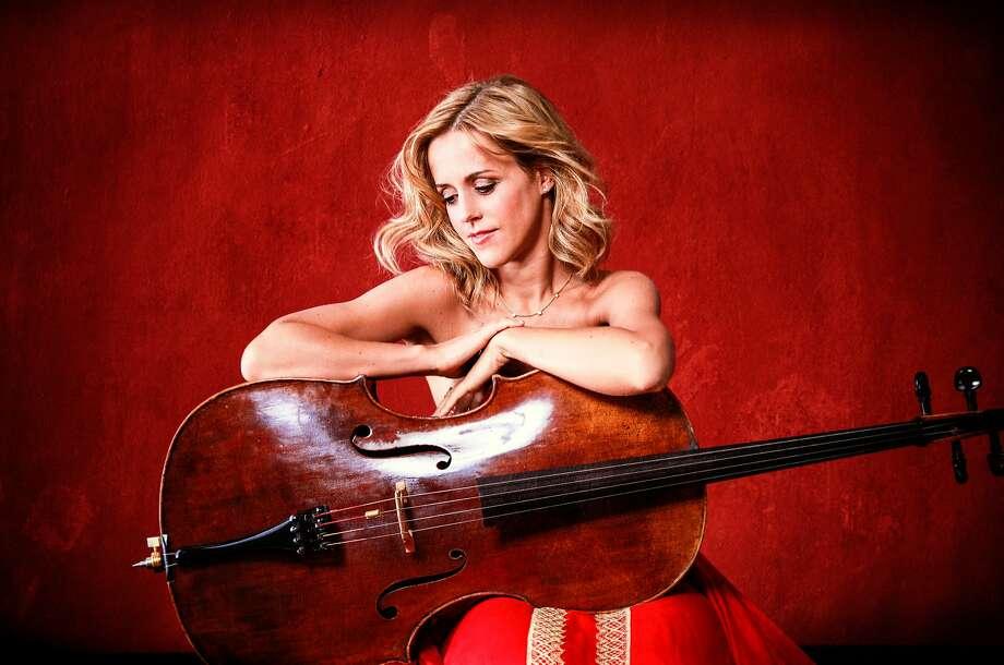 Cellist Sol Gabetta performs Tuesday, Nov. 15, at Herbst Theatre. Photo: Uwe Arens
