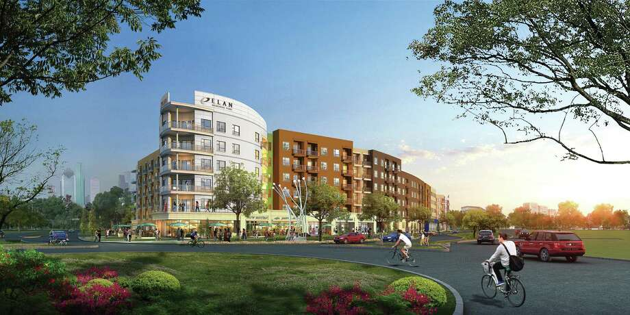 Union Kitchen will occupy 5,100 square feet in the Elan Memorial Park apartments at 920 Westcott next year. It will be the chain's fifth location. Photo: Courtesy Rendering