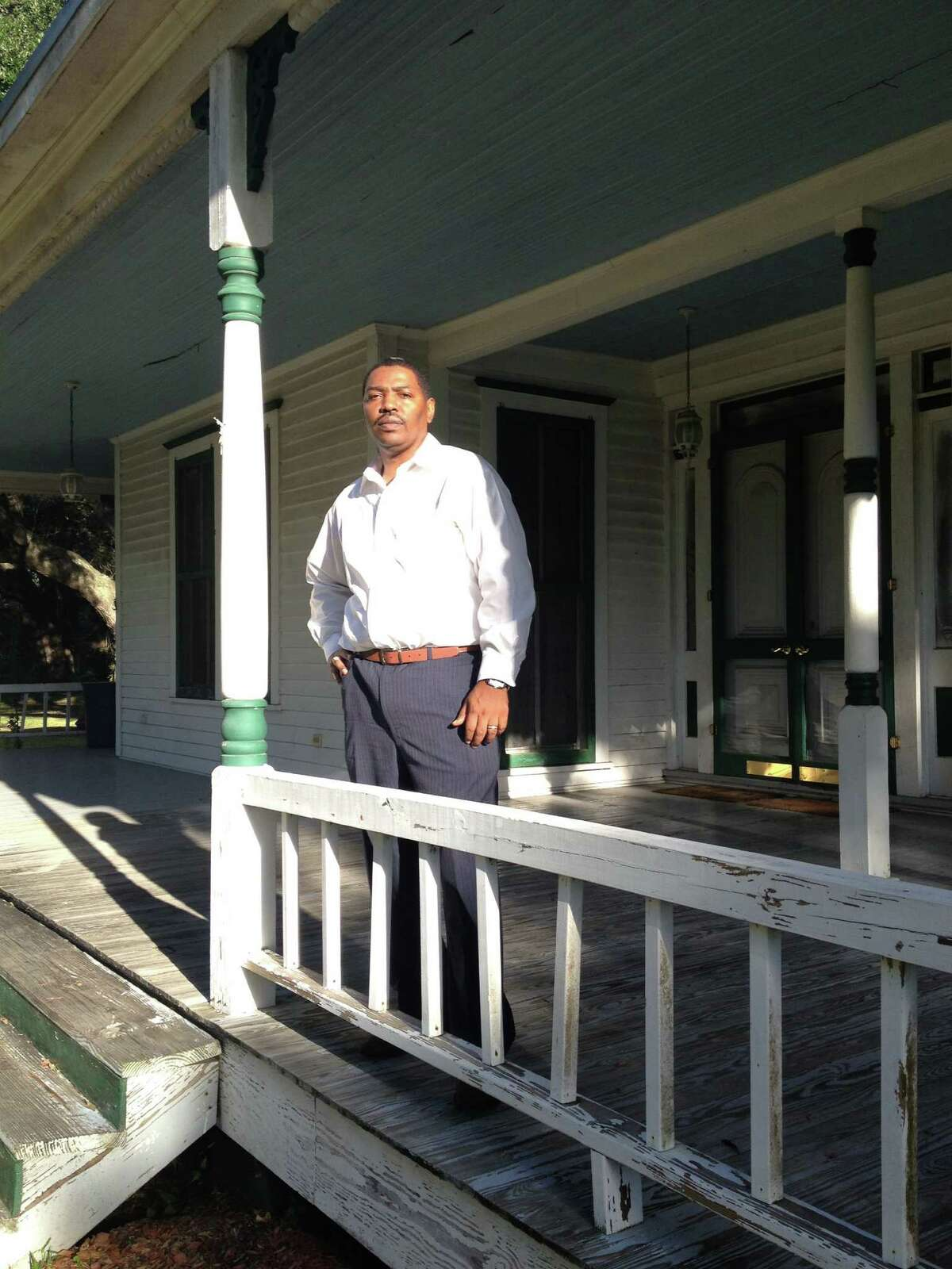 Sam Collins hopes to turn the home of Confederate Army veteran Henry Martyn Stringfellow into a learning center for the community.