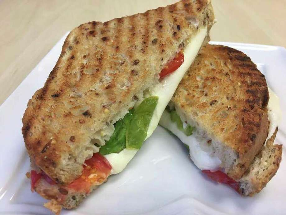 The 'Caprese Grilled Cheesy.' (Green Gourmet Cafe Facebook page)