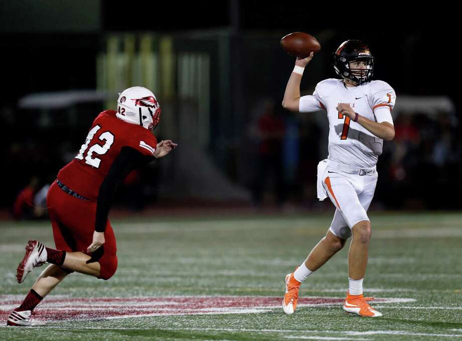 St. Pius X' quarterback Grant Gunnell has committed to Texas A&M and figures to post monster numbers once again this season. Photo: Karen Warren, Houston Chronicle / 2016 Houston Chronicle