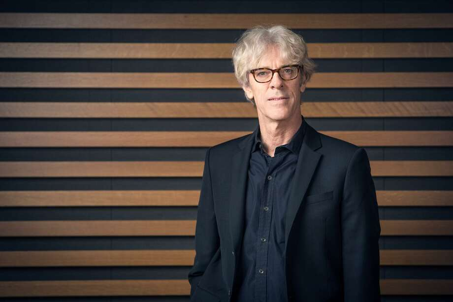 "Stewart Copeland, the former percussionist for the Police, performed his ""The Tyrant's Crush: Concerto for Trapset and Orchestra"" with the San Antonio Symphony this weekend. Photo: Courtesy Shayne Gray /Courtesy Shayne Gray / © 2015 shayne gray"