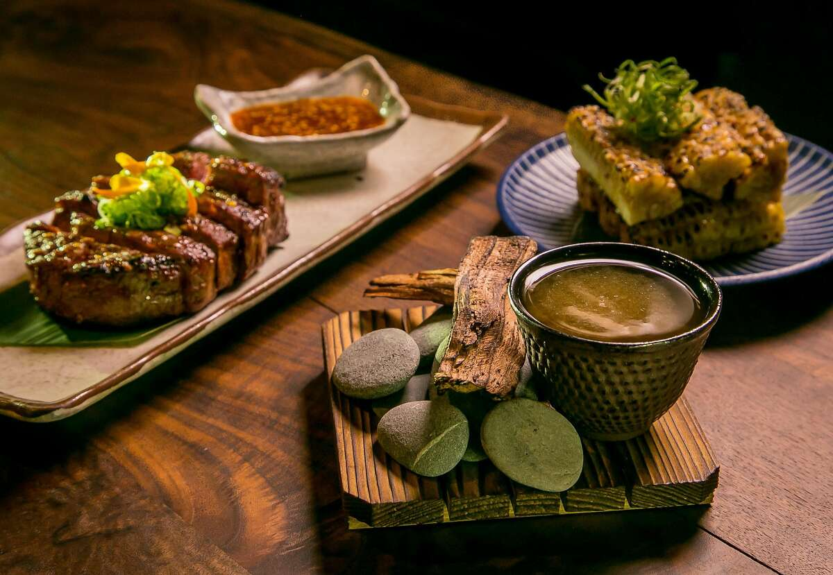 Roka Akor  Special offer: Prix-fixe two-course lunch at $25, prefixed four-course dinner at $65 This upscale restaurant located in the Financial District offers both lunch and dinner prix-fixe menus. Wagyu sirloin, which is one dinner entree selection, is priced at $44 on the regular menu. Also, the five-piece sashimi chef selection, also on the dinner menu, is normally priced at $49. Check out their full lunch menu here and their full dinner menu here.  Contact: (415) 362-8887, rokaakor.com